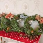クリスマスリース, クリスマスリースレッスン, クリスマス, クリスマス準備