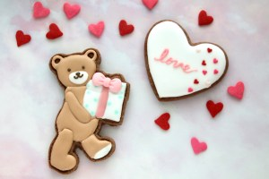 バレンタインアイシングクッキーWS, アイシングクッキー教室, バレンラインレッスン