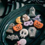 ハロウィンアイシングクッキー, halloweenicingcookie, ハロウィンミニクッキー