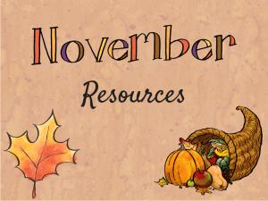 Agenda: Novembre