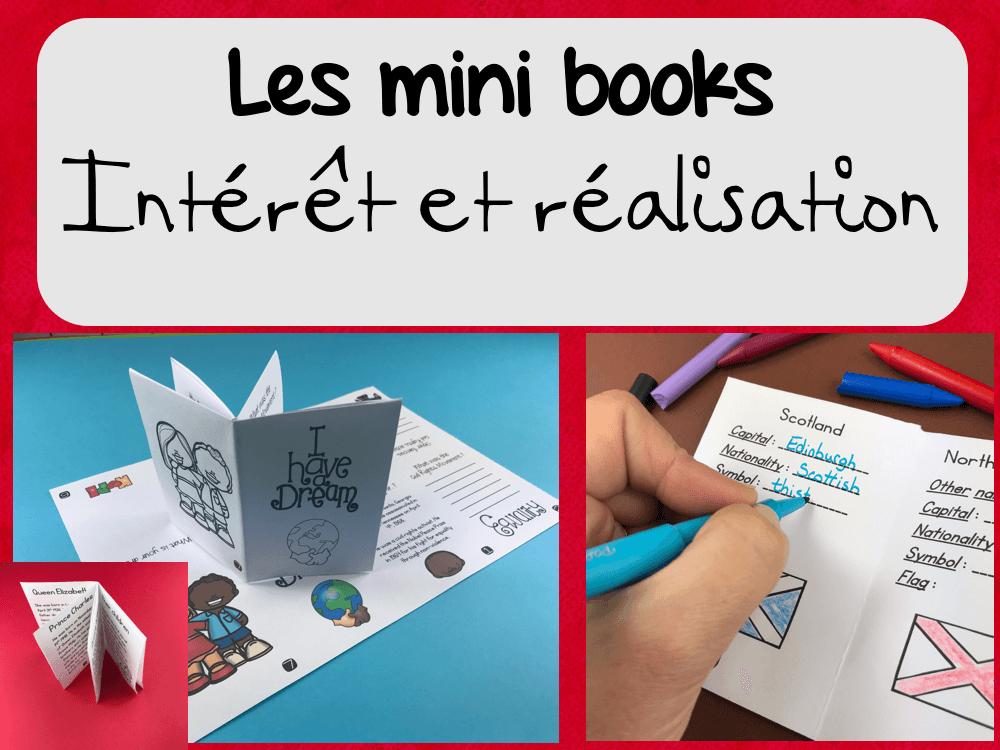 Un mini book : intérêt et réalisation