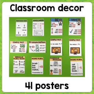 Grammar Posters – Set 2
