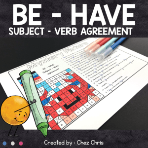 BE – HAVE : subject verb agreement