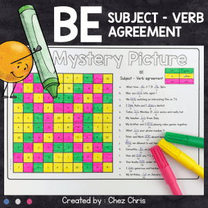 BE Subject Verb Agreement