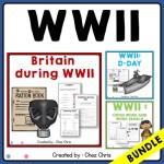 couverture du bundle de ressources consacrées à la seconde guerre mondiale