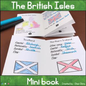 The British Isles Minibook