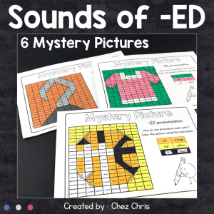 Phonics – Sounds of ED