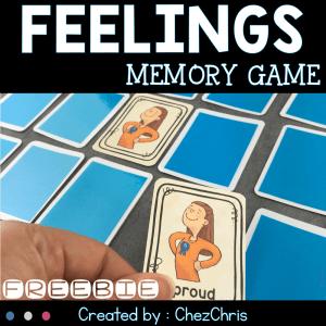 Feelings – Memory Game