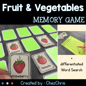 Fruit and Vegetables Memory