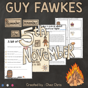 Guy Fawkes and Bonfire Night Activities