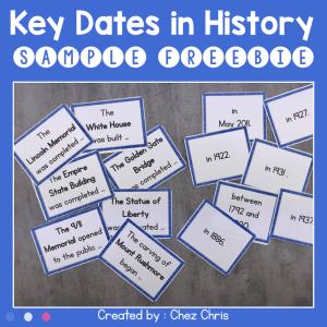 Key Dates in History – Sample