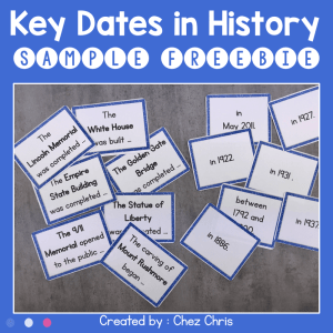 Key Dates in History – Sample