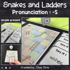 Pronunciation -S – Snakes and Ladders