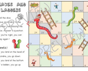 Christmas – Snakes and Ladders