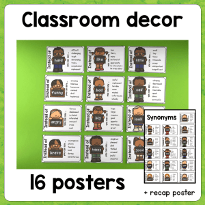 Posters : Synonyms
