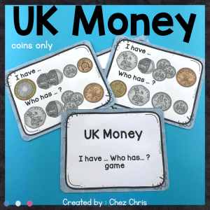 UK Money I Have Who Has Game