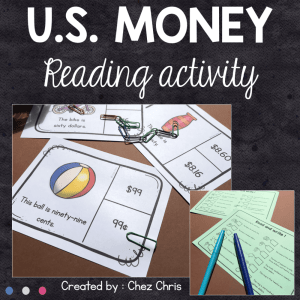 US Money – Reading Activities