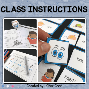 Class Instructions