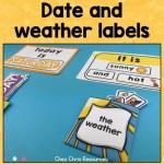 couverture warm up rituel date en anglais météo en anglais