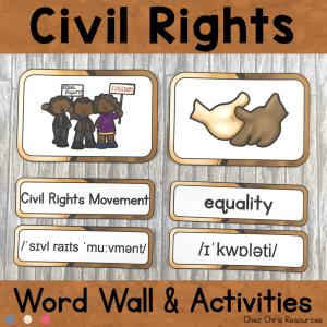 January : Civil Rights