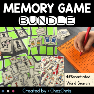 Memory Games – Bundle