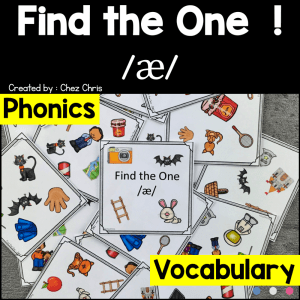 Find the one – The sound /a/