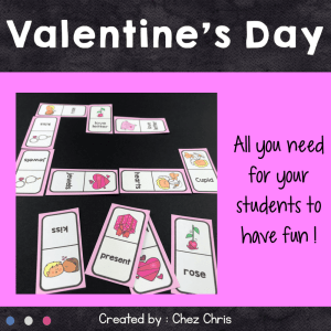 Dominoes – Valentine's Day