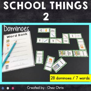 Dominoes School Things – 2