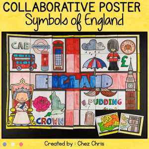 Symbols of England : a Collaborative Poster