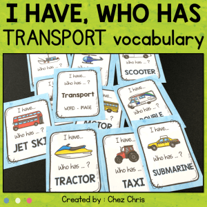 Transport – I have who has game