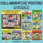 Bundle des posters collaboratifs : image de couverture avec 9 ressources incluses