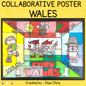 Symbols of Wales  – A Collaborative Poster