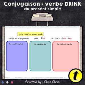Conjugaison au Présent Simple : une activité interactive