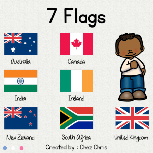 Flags Galore – 7 Collaborative Posters