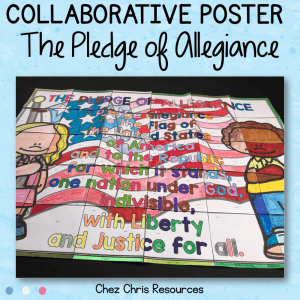The Pledge of Allegiance, a Collaborative Poster