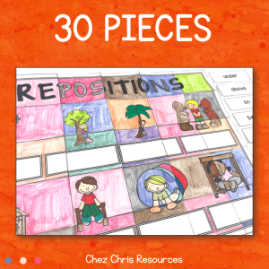 Prepositions Vocabulary – A Collaborative Poster