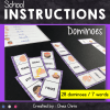 dominoes School instructions