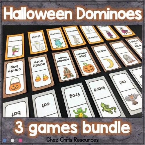 image de couverture du bundle consacré aux dominos d'Halloween