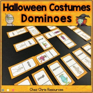 image de couverture de la ressource : les dominos - les costumes d'Halloween