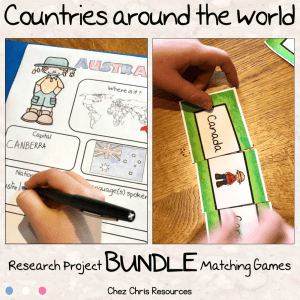 Countries Around the World Bundle