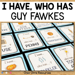 Guy Fawkes – I have who has game