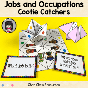 Jobs and Professions Cootie Catchers