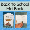 Back to school minibook