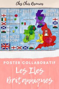 POSTER COLLABORATIF British Isles