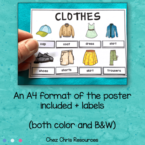 clothes collaborative poster