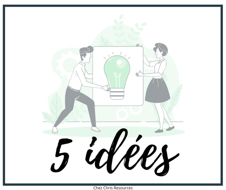 5 idées quand on n'a pas sa salle de classe au collège