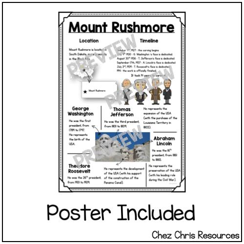 Mount Rushmore minibook 1