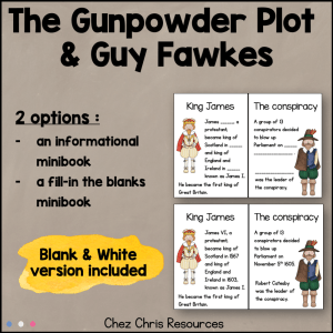 The Gunpowder Plot Mini Book