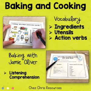 Baking and Cooking Complete Lesson