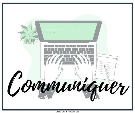 image communiquer cours à distance
